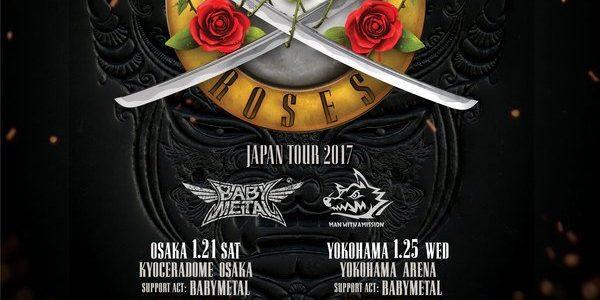 GUNS N' ROSES Kicks Off Japanese Leg Of 'Not In This Lifetime' Tour In Osaka (Video)