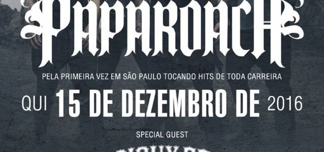 PAPA ROACH Looks Back On South American Tour In Third Part Of Video Diary