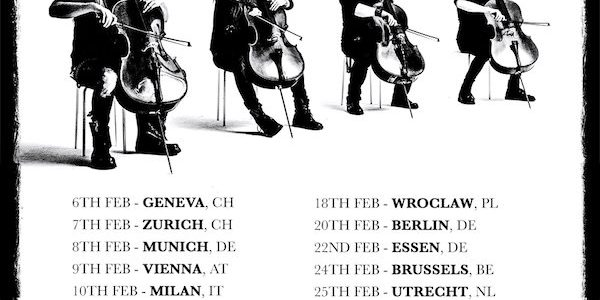 Video: APOCALYPTICA Celebrates 20th Anniversary Of 'Plays Metallica By Four Cellos' With Vienna Concert