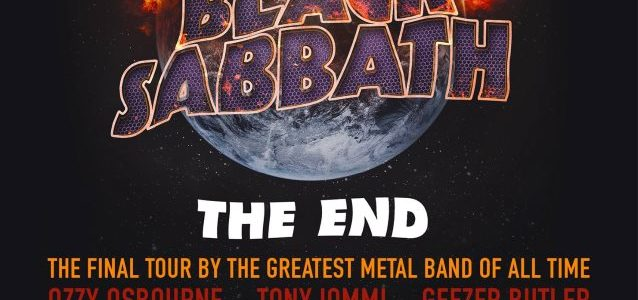 BLACK SABBATH Reaches 'The End' As Band Performs Final Concert In Birmingham (Video)