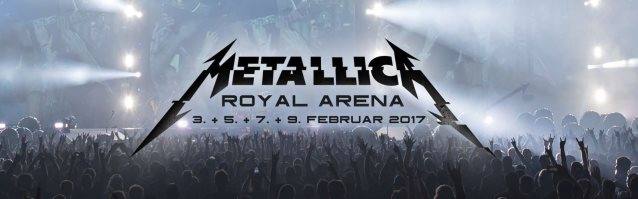 METALLICA: Time Lapse Video Of Stage Setup For Copenhagen Shows