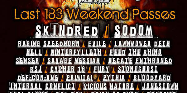Video: SODOM Performs At U.K.'s HRH METAL Festival