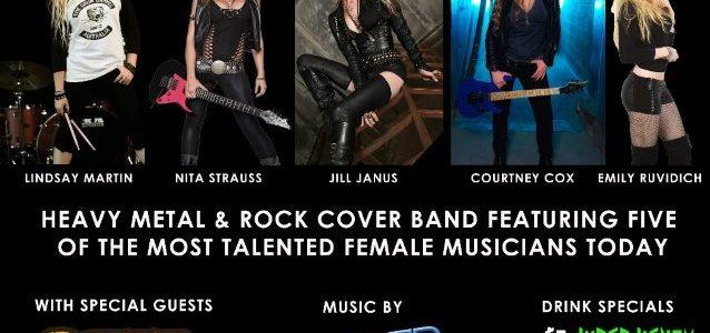 ALICE COOPER Guitarist NITA STRAUSS, HUNTRESS Singer JILL JANUS Join Forces In THE STARBREAKERS