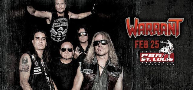 Video: WARRANT Performs MERLE HAGGARD's 'I Think I'll Just Stay Here And Drink' At PBR St. Louis Kick-Off Event
