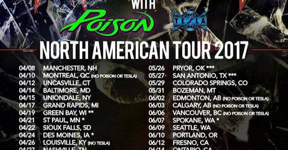 RIKKI ROCKETT Unveils New Drum Kit For POISON's Summer Tour (Video)