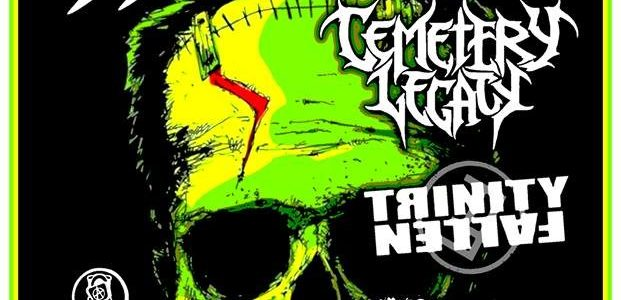 Video: Former TESTAMENT Bassist GREG CHRISTIAN's TRINITY FALLEN Performs In Sacramento