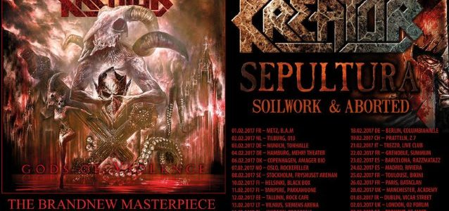 ANDREAS KISSER: 'Every Day We Wake Up, It's Like We Build A New SEPULTURA'