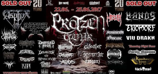 MASSACRE X Feat. RICK ROZZ, KAM LEE: Live Debut Set For Germany's PROTZEN OPEN AIR Festival