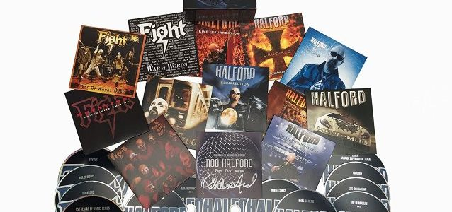 ROB HALFORD's Work Outside Of JUDAS PRIEST Spotlighted On 'The Complete Albums Collection'