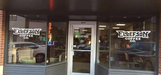 MEGADETH Bassist DAVID ELLEFSON Holds Grand Opening Of ELLEFSON COFFEE CO. In Jackson (Video)