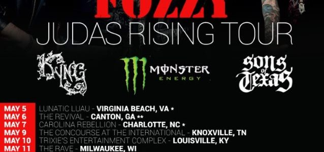 Listen To New FOZZY Single 'Judas'