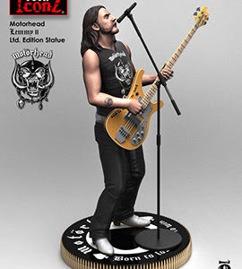 New MOTÖRHEAD 'Rock Iconz' Statues Coming From KnuckleBonz