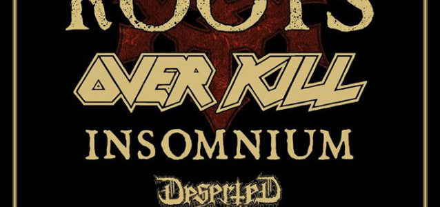 MAX + IGOR CAVALERA To Tour Europe With OVERKILL, INSOMNIUM