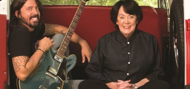 DAVE GROHL And His Mom To Appear On 'The Late Show With Stephen Colbert'
