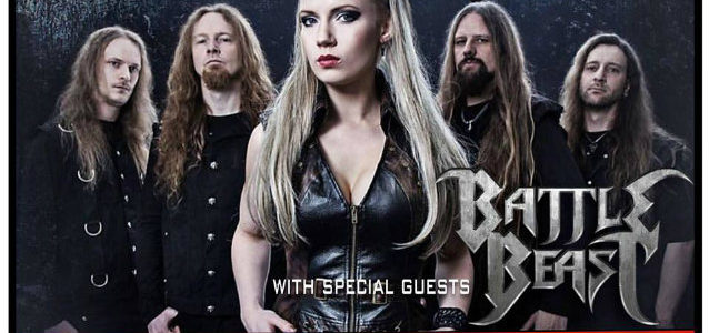 BATTLE BEAST: Quality Video Footage Of Westland, Michigan Performance