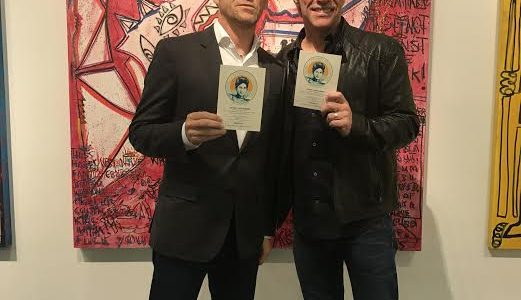 JASON NEWSTED Hangs Out With JON BON JOVI At 'Art New York'