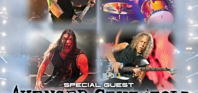 METALLICA: Pro-Shot Footage Of 'Atlas, Rise!' Performance From Tour Kick-Off