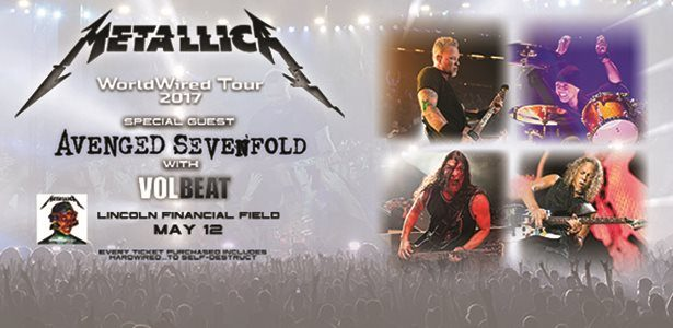 METALLICA: Watch Pro-Shot Performance Of 'Motorbreath' From Philadelphia Concert