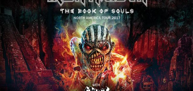IRON MAIDEN Guitarist DAVE MURRAY: 'We're Not Stopping After' 'The Book Of Souls' Tour