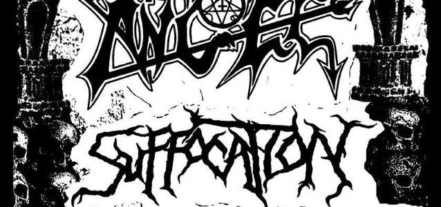 Watch MORBID ANGEL's New Lineup Perform In Los Angeles