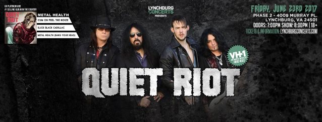 QUIET RIOT Performs New Song 'Freak Flag' Live For First Time (Video)