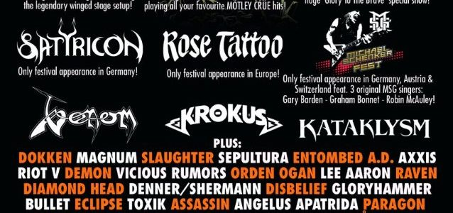 Video: DOKKEN Performs At Germany's BANG YOUR HEAD!!! Festival