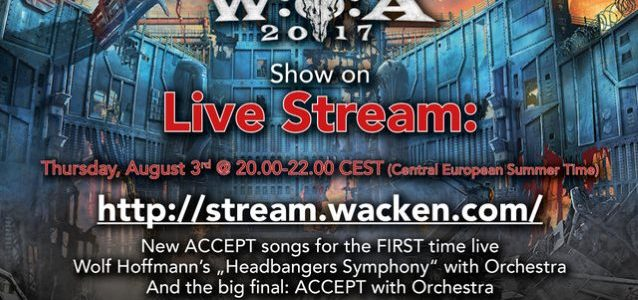 Watch ACCEPT Perform With Orchestra At Germany's WACKEN OPEN AIR Festival