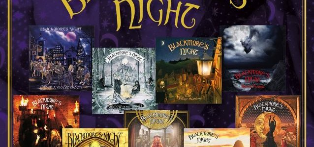 RITCHIE BLACKMORE's 6-Year-Old Daughter Guests On BLACKMORE'S NIGHT Song 'Ghost Of John' (Audio)