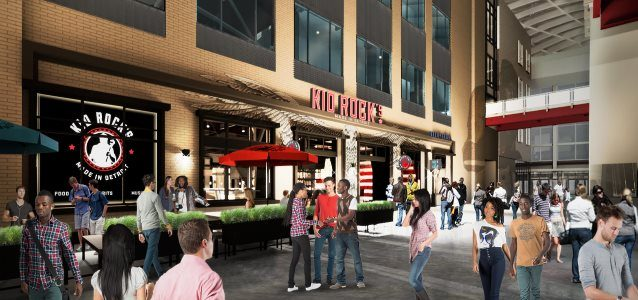 KID ROCK's 'Made In Detroit' Restaurant Set To Bring Flavor And Fun To Little Caesars Arena
