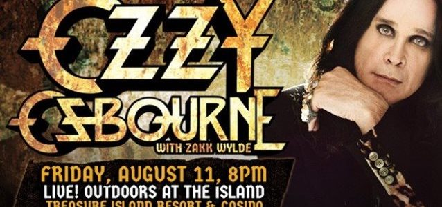 OZZY OSBOURNE + ZAKK WYLDE: Video Of Entire Welch, Minnesota Concert