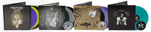 PARADISE LOST: Vinyl Reissues And 'Live At The Roundhouse' Due In September