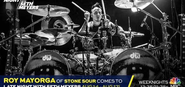 STONE SOUR's ROY MAYORGA Set For 'Late Night With Seth Meyers' Guest Stint