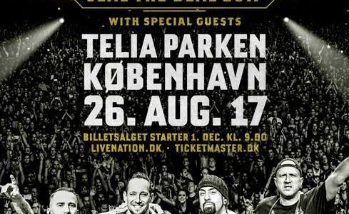 METALLICA's LARS ULRICH Joins VOLBEAT On Stage In Copenhagen (Video)