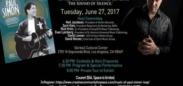 Watch DISTURBED's DAVID DRAIMAN Perform 'The Sound Of Silence' At CCFP Event In Los Angeles