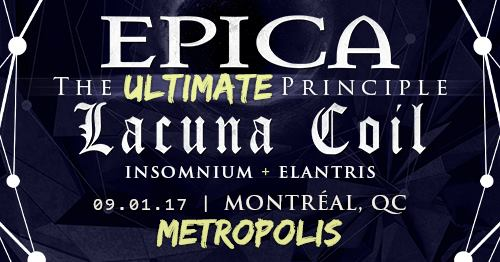 Video: LACUNA COIL Performs In Montreal