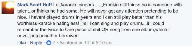 Former QUIET RIOT Singer MARK HUFF Calls Band's Music 'S**t,' Slams FRANKIE BANALI's Drumming