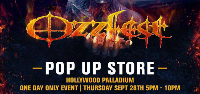 OZZFEST Pop-Up Store To Launch This Thursday In Hollywood