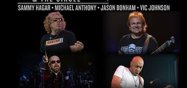Video: SAMMY HAGAR And MICHAEL ANTHONY's THE CIRCLE Performs In Philadelphia