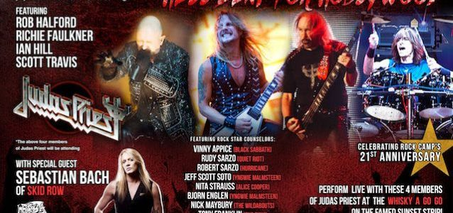 JUDAS PRIEST Members, SEBASTIAN BACH, RUDY SARZO Perform At At 'Rock 'N' Roll Fantasy Camp' Finale At Whisky A Go Go