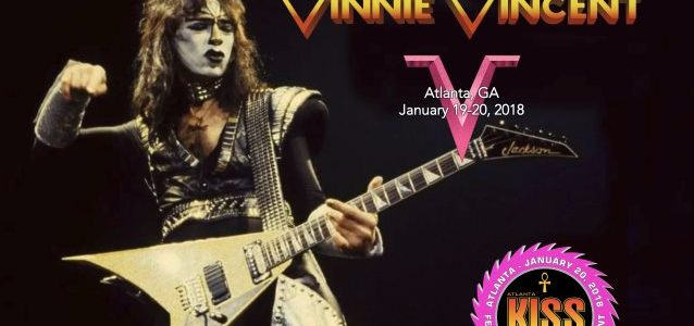 Former KISS Guitarist VINNIE VINCENT Is 'Happy And Excited' About His Appearance At Atlanta KISS Expo