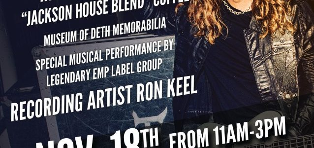 MEGADETH Bassist To Return To Jackson For End-Of-Year Party At New Ellefson Coffee Co. Retailer