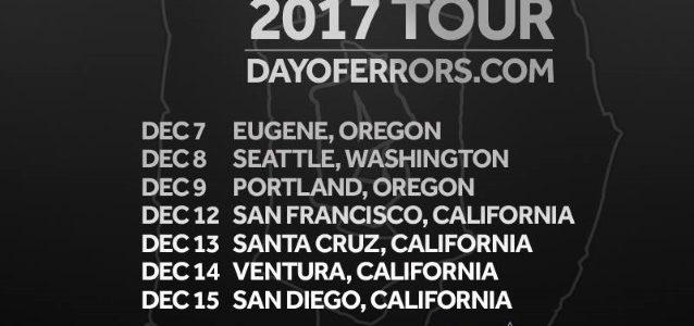 Original BLACK SABBATH Drummer BILL WARD's DAY OF ERRORS Announces West Coast Tour