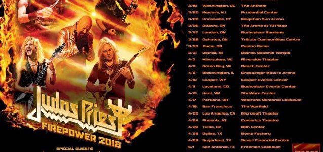 SAXON And BLACK STAR RIDERS To Support JUDAS PRIEST On 'Firepower' North American Tour