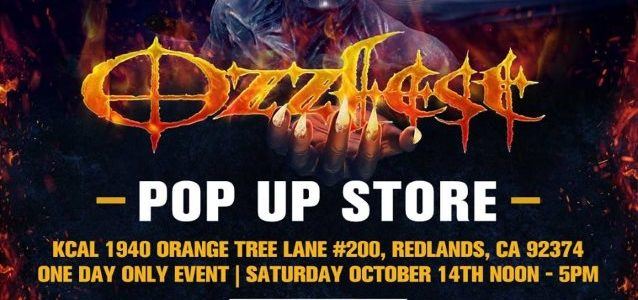 OZZY And SHARON OSBOURNE To Host OZZFEST Pop-Up Store In Redlands On Saturday
