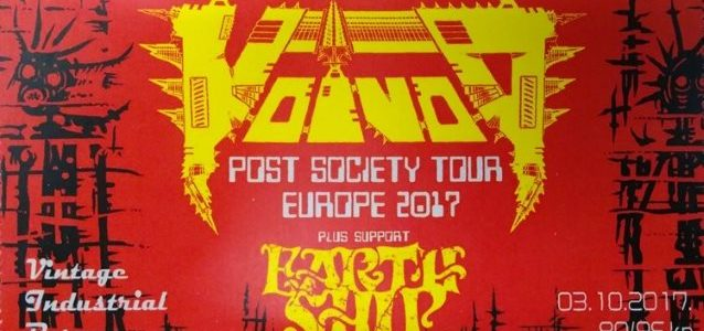 Watch VOIVOD Perform In Zagreb, Croatia