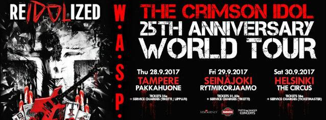 Watch W.A.S.P. Perform In Helsinki