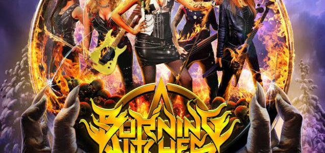 Swiss All-Female Heavy Metal Band BURNING WITCHES Releases 'Black Widow' Video