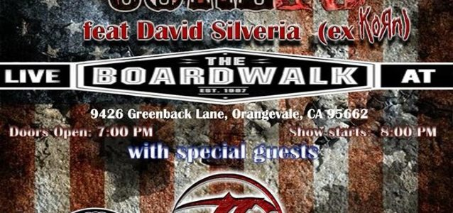 CORE 10 Feat. Original KORN Drummer DAVID SILVERIA: Video Footage Of Orangevale Concert