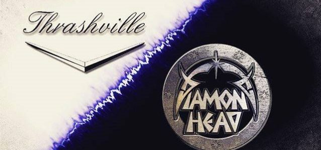 DIAMOND HEAD Signs With DAVE MUSTAINE's THRASHVILLE MANAGEMENT