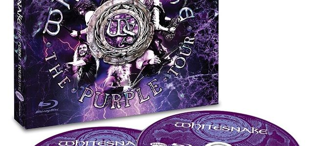 WHITESNAKE Releases Official Music Video For 'Burn' From 'The Purple Tour (Live)'